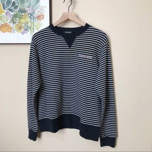 Polo Jeans Co Striped Pullover Sweater Size L
